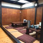 五平田・蔵 - 二階 座敷席