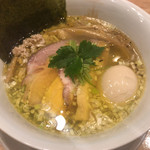 100394715 - 鶏そばムタヒロ2号店(特製塩鶏そば)