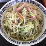 八重食堂 - 料理写真:ちゃんぽん580円
