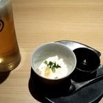 100395564 - お通しのお豆腐!!