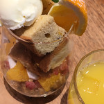 ラ テラス カフェ エ デセール - デザート (*´ω`*) メープルオレンジ