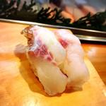 さとみ寿司 - コチにヒラマサ