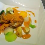 キャトルフィーユ - 鶏モモ肉のロースト