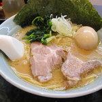 寺田家 - ラーメン(並)+味玉