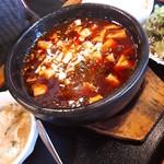 チャ~ボン多福楼 - 石鍋麻婆豆腐定食