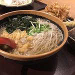 花園蕎麦 - 料理写真:かけ大根蕎麦