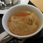 イセタンダイニング - オニオンスープ