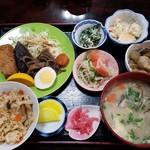 八女物産館ときめき - 料理写真:だご汁定食