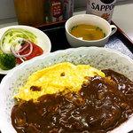 10041074 - オムハヤシライス