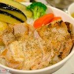 紫園 - 紫園特性ポーク丼