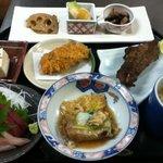 源氏 - お昼の懐石膳(一例)