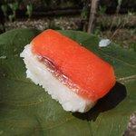 10041919 - 柿の葉すし(鮭)