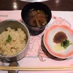 櫻宴 - 御飯物など