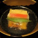 100413044 - スッポンの玉子豆腐の椀物