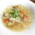 神戸ハンバーグウエスト - 野菜スープ