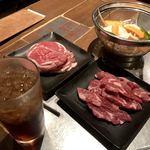 ジンギスカン羊羊亭 - ロールマトン 生ラムロース肉 野菜はサービス