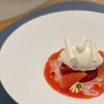 RESTAURANT y - 苺、薔薇、ホワイトチョコレート