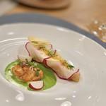 RESTAURANT y - 鱈、蕪、カラスミ