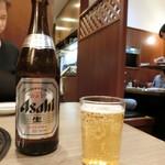 板門店 - アサヒ中瓶550円