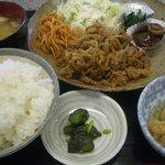 10042523 - 【日替わり】肉(プルコギ)