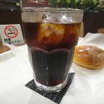 アンジェロ ベーカリー&カフェ 森永 - アイスコーヒー
