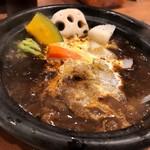 ホットスプーン - 冬野菜濃厚牛すじカレー(993円)