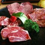 焼肉処 まるます家 - 料理写真:「牛盛定食」(ランチメニュー)