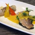 チャコールグリルケヤキ - 魚