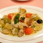 ピッツェリア・サバティーニ - 長崎産鮮魚のアクアパッツァ