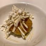 ラ ソスタ - 北海道産真鱈の白子とセルフィーユ