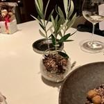 ラ ソスタ - ミニ観葉植物が!