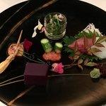 北山モノリス - 前菜五種盛り