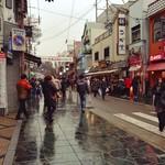 びっくりうどん 三好野 - 三条通りの風景。