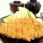 板倉ゴルフ場レストラン - 料理写真:とんかつ定食