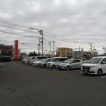 バーミヤン - 駐車場