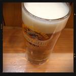 晩杯屋 - 生ビール 410円