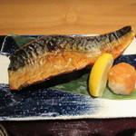 産直青魚専門 新宿 御厨 - 焼きトロサバ