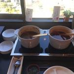 ホテルセイリュウ - 「ハッシュドビーフ」と「具だくさん和風カレー」