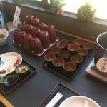 ホテルセイリュウ - 茶そばと味噌汁