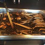 ホテルセイリュウ - 「焼き魚」コーナー