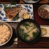 葉地 - 料理写真:自家製塩サバ定食