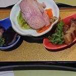 会席創作かっぽう 花水季 - 3000円コース前菜