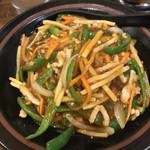 長楽 - 料理写真:青椒ご飯ちゃう!四川飯やで!