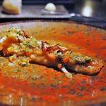 エクアトゥール - カスベ 焦がしバターのソース ケッパー セミドライトマト
