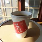 エヌジーエス コーヒー - アメリカーノ HOT 380円