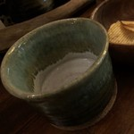 Aaty - 焼酎お湯割のグラスが幅広でナイスです