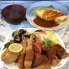 八千仙 - 料理写真:海の幸定食オカズのみ&オムライス