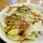 海鮮館 - サラダ(日替ランチ)