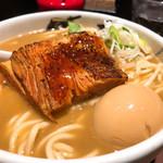 麺屋武蔵 武仁 - ◆武人ラーメン 1,100円(税込み) 煮干しの美味さが堪らなくてスープ飲み干した。