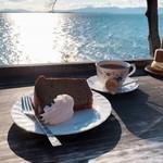 シャーレ水ヶ浜 - ケーキセット 800円